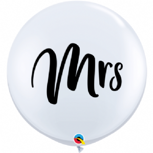 MRS 3ft Giant Balloons - Large MRS Round Latex Balloon